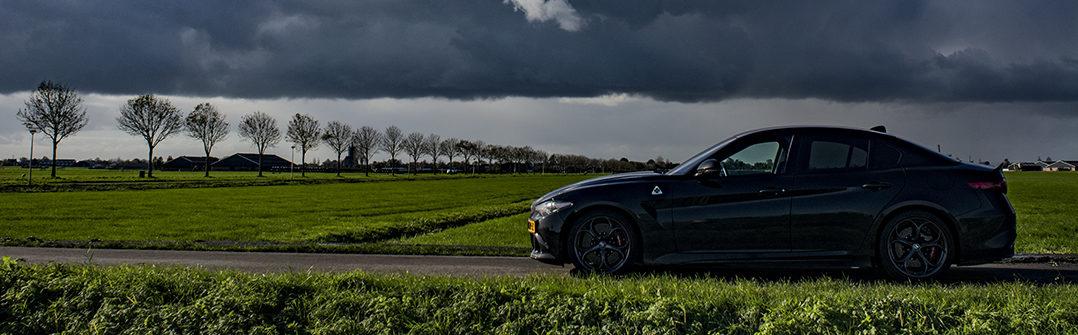 Alfa Romeo Giulia Quadrifoglio rijtest autotest Driving-Dutchman