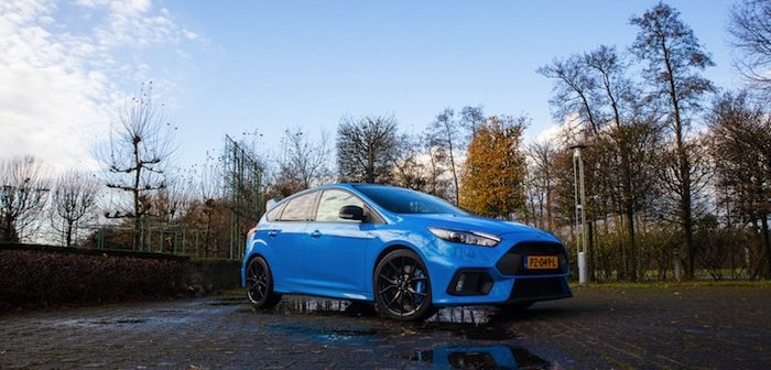 Ford Focus RS Driving-Dutchman autotest rijtest performance