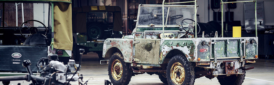 Land Rover Series 1 70 jaar 2018 Driving Dutchman