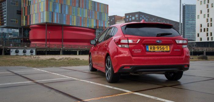 Autotest Subaru Impreza 2018 Driving-Dutchman achterkant