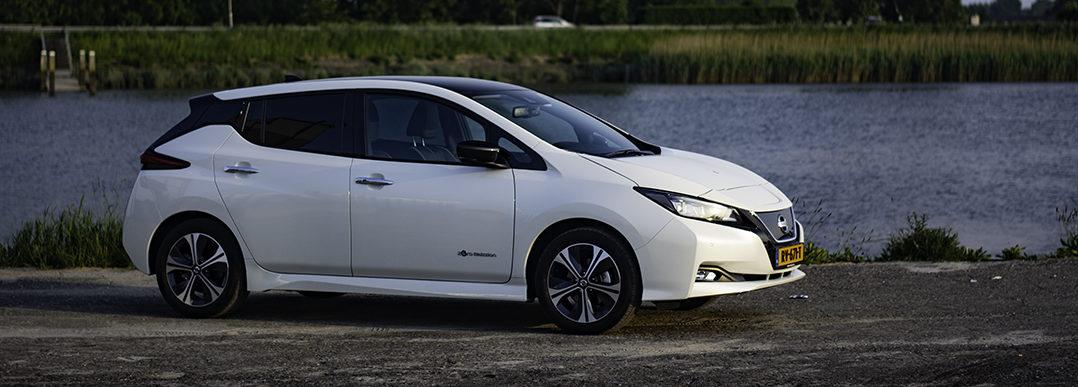 Rijtest Nissan leaf 8