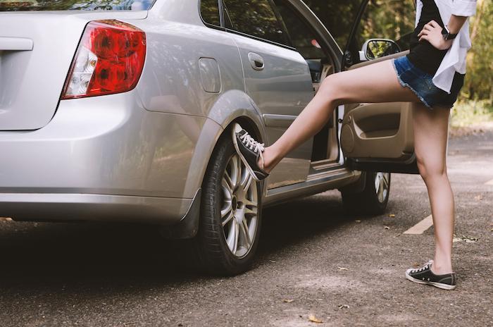 Pas op auto's met slechte banden, het zijn er meer dan je denkt!