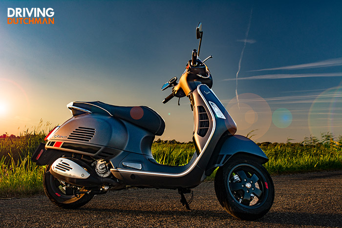 Rijtest Vespa GTS 300 supersport 7