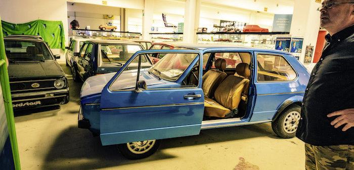 Oostenrijker verzamelt 114 bijzondere Volkswagen Golfs Driving-Dutchman