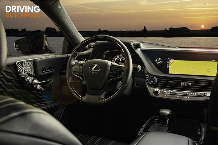 Rijtest Lexus LS 500h
