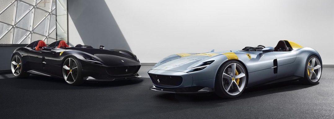 Ferrari Monza SP1 en SP2 Driving-Dutchman