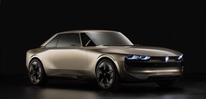 Peugeot e-Legend Driving-Dutchman concept