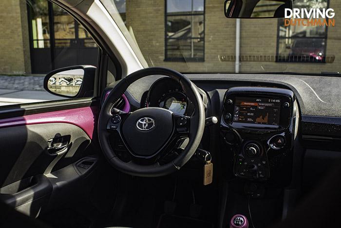 Rijtest Toyota AYGO