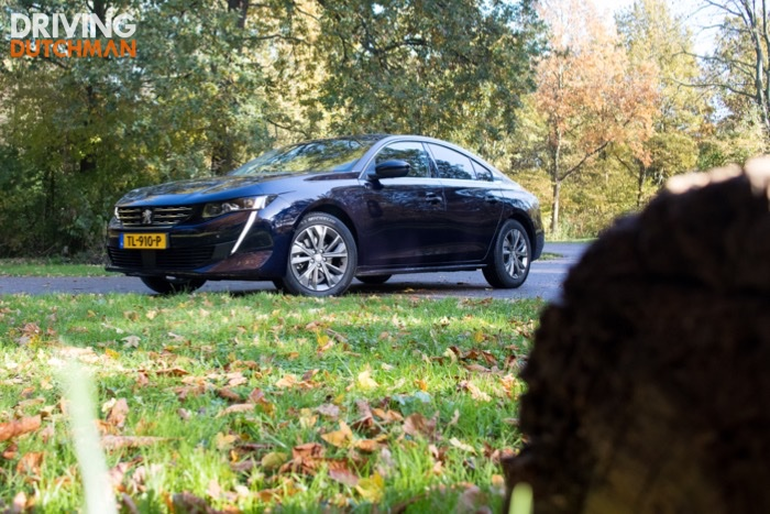 Autotest Peugeot 508 2019 Driving-Dutchman