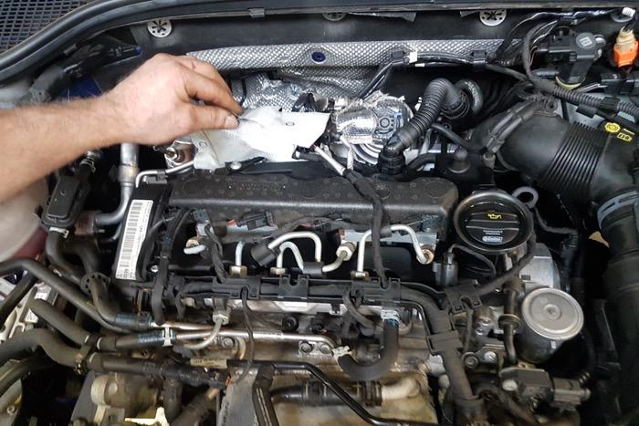 Brandend roetfilter controlelampje Skoda Octavia zorgt voor verwarring Driving-Dutchman