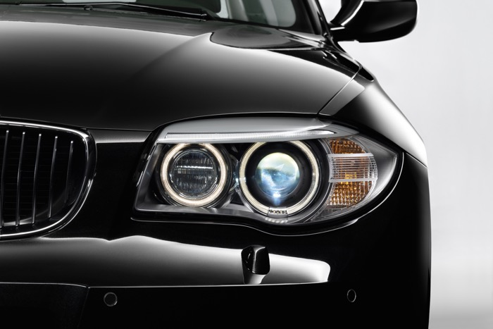 Xenon verlichting BMW 1-serie in de war Driving-Dutchman