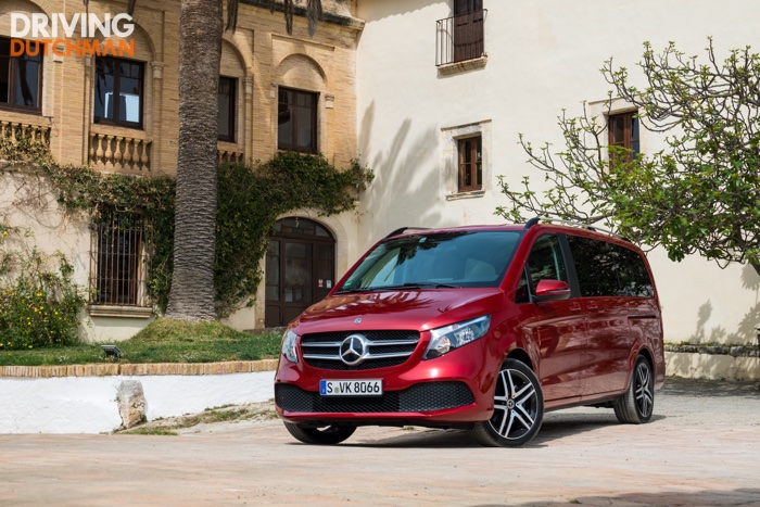 Test Mercedes-Benz V-Klasse 2019 Driving-Dutchman