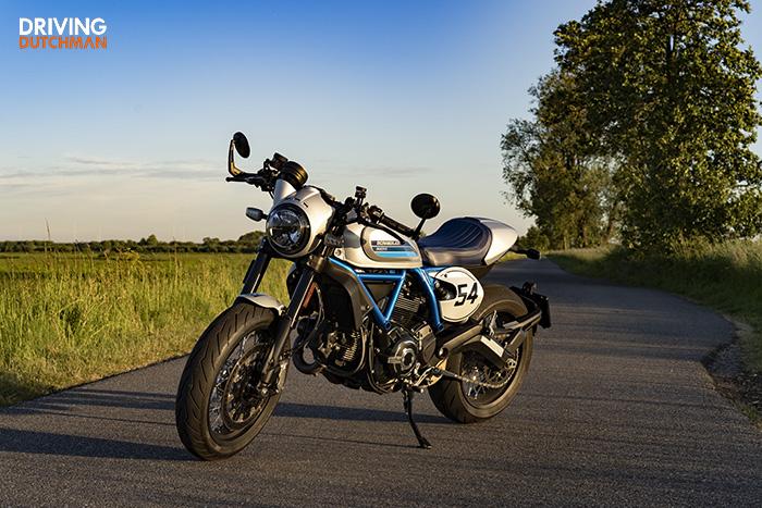 Test Ducati Scrambler Cafe Racer