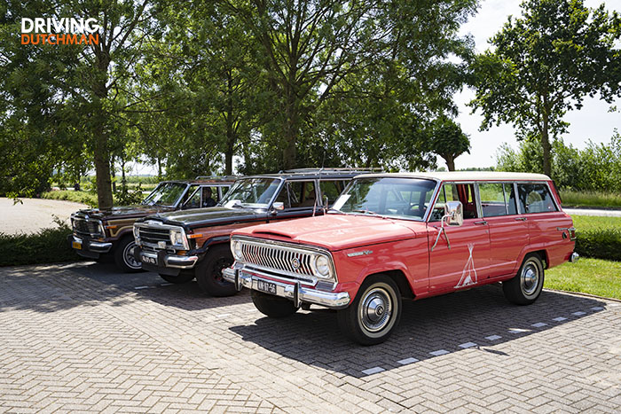 Jeep Wagoneer meeting