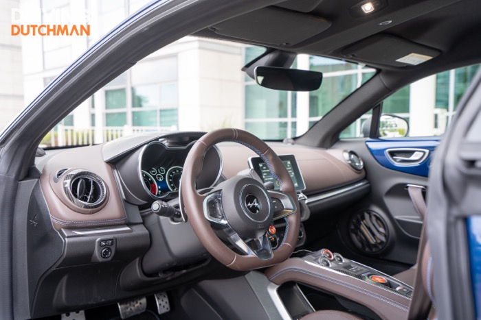 Test Alpine A110 Légende interieur Driving-Dutchman
