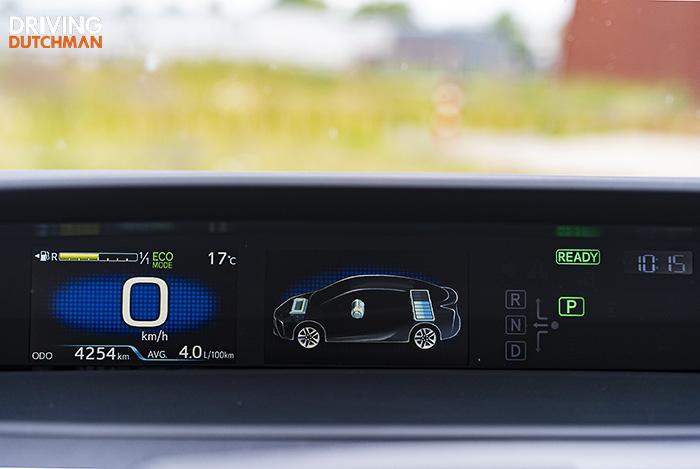 Test Toyota prius 2019
