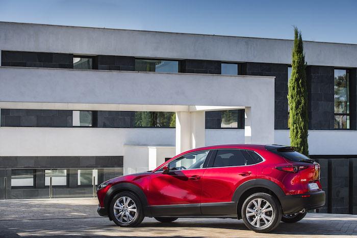 Test met de Mazda CX-30 Skyactiv-X Driving-Dutchman