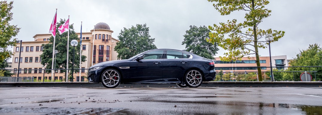 Test Jaguar XE 2019 Driving-Dutchman