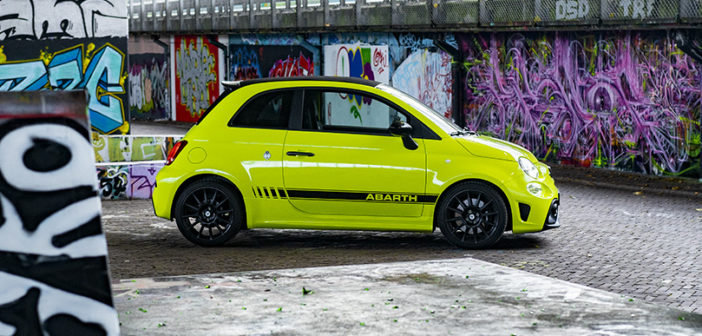Test Abarth 595 Competizione 70th