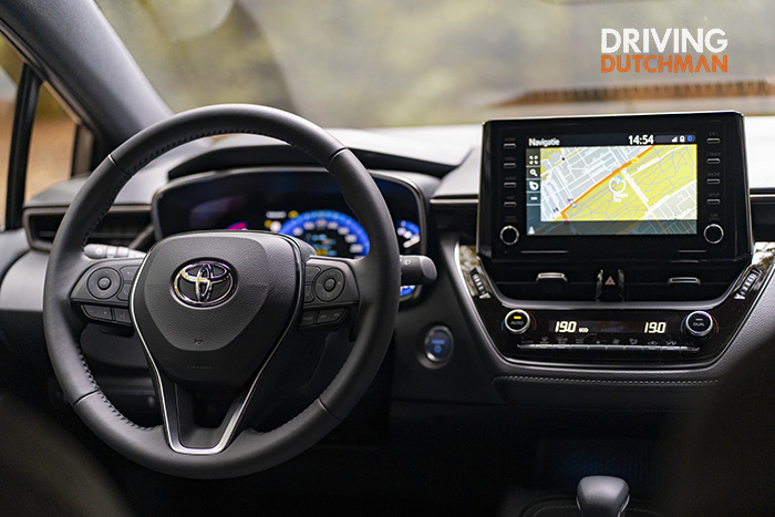 Test Toyota Corolla TREK