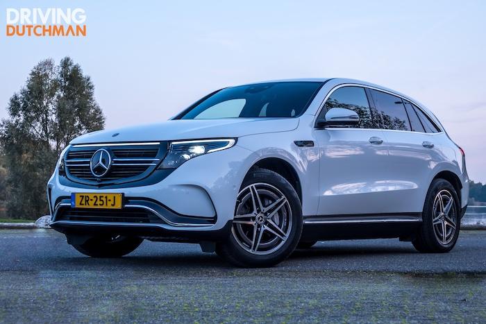 Test met de inspirerende elektrische Mercedes-Benz EQC 400 4MATIC Driving-Dutchman