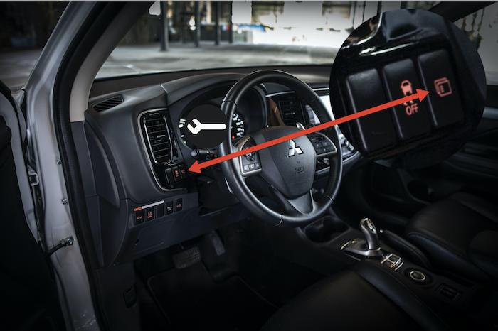 Zo kun je de service-interval indicator van een Mitsubishi Outlander PHEV resetten