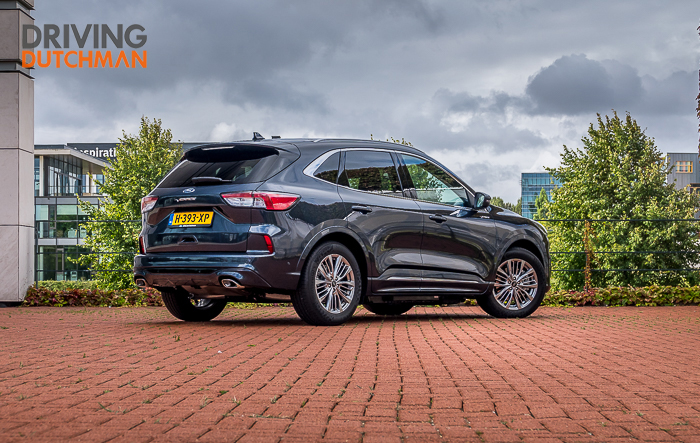 Ford Kuga PHEV 2020 Driving-Dutchman