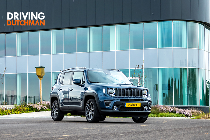 Autotest Jeep Renegade 4xe 240 pk Plug-in Hybrid Driving-Dutchman voorzijde