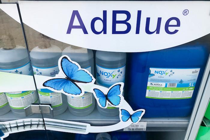 AdBlue Ford Ranger geeft de geest ad