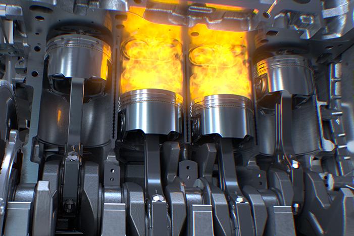 Dieselmotor houdt in door defecte gloeibougie