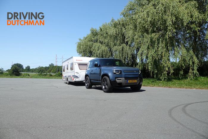 Land Rover Defender 90 Driving-Dutchman